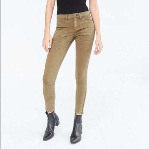 UO BDG Jefferson Moto Ankle Zip Skinny Jean